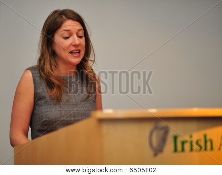 Dr. Yvonne McKenna of Volunteer Centres Ireland on 5.12.2009