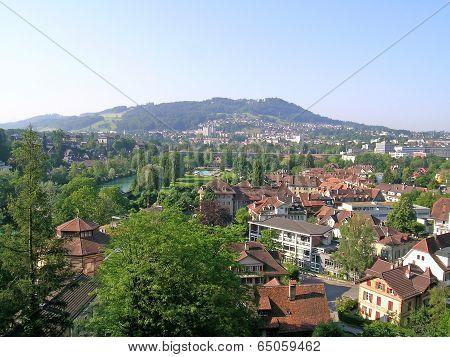 Residential area in Bern