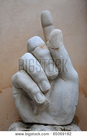 Right Hand Of Colossus Of Constantine