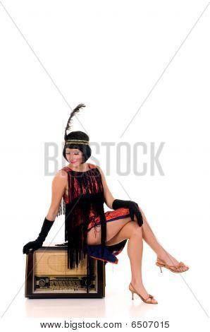Vestido de Charleston mujer