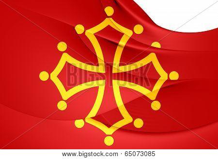 Flag Of Midi-Pyrenees