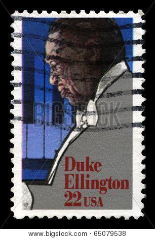 Duke Ellington Us Postage Stamp