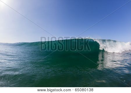 Wave Breaking Crashing Water