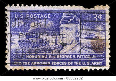 Vintage George S Pattern Us Postage Stamp