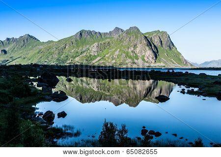 Beautiful Landscape Of North Norway, Scandinavia