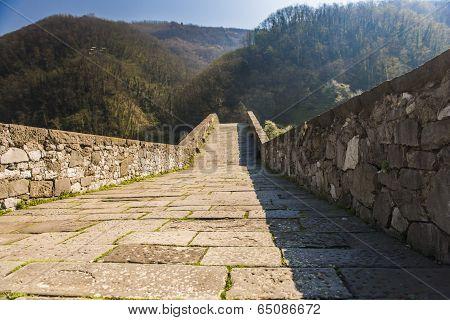 Devil's Bridge, Borgo A Mozzano, Italy