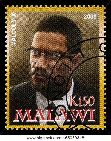 Malcolm X Postage Stamp