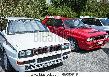 Lancia Delta Rally Vintage Cars