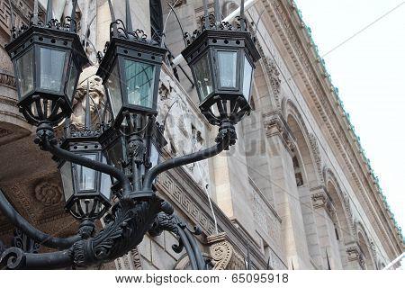 ornate lights
