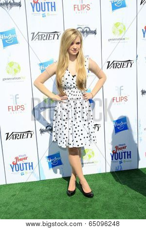 LOS ANGELES - JUL 27:  Sierra McCormick at the Variety's Power of Youth  at Universal Studios Backlot on July 27, 2013 in Los Angeles, CA