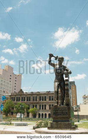 Monument In Monterrey City