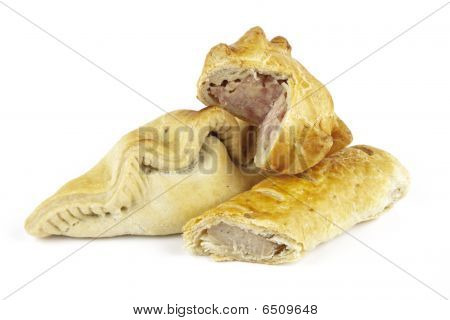 Sausage Roll With Pork Pie And Pasty