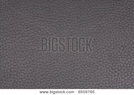 Textured black leatherette material