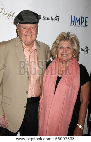 LOS ANGELES - MAY 14:  Dick Van Patten, Pat Van Patten at the