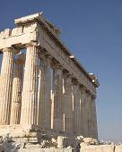 pic of akropolis  - Parthenon ancient Greek temple - JPG