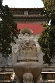 stock photo of ling  - The Ding Ling Tomb - JPG