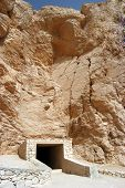 image of mortuary  - Ancient tomb at Valley of the kings Luxor Egypt - JPG