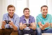 stock photo of video game controller  - friendship - JPG