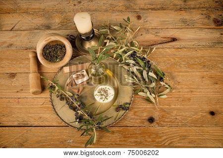Olive Oil Based Cosmetics