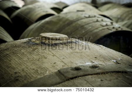 Cap Wine Barrel