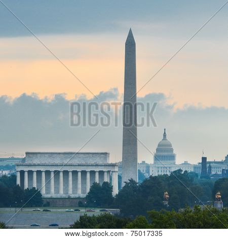 Washington DC - National Mall at sunrise