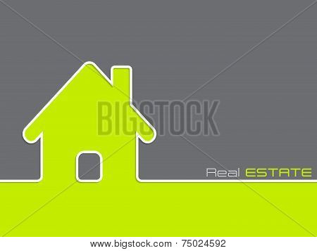 Real Estate Advertising Background