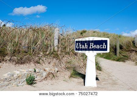 Utah Beach.