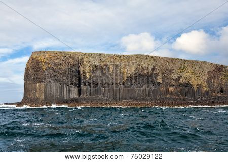 Basalt Columns On Isle Of Staffa