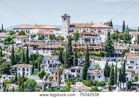 View Of Sunny Granada, Spain