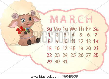 beautiful calendar
