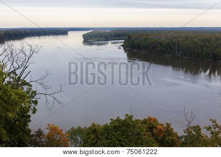 Mississippi River at Hannibal, Missouri