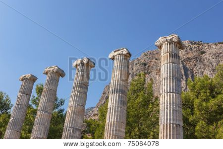 Temple Of Athena (columns)