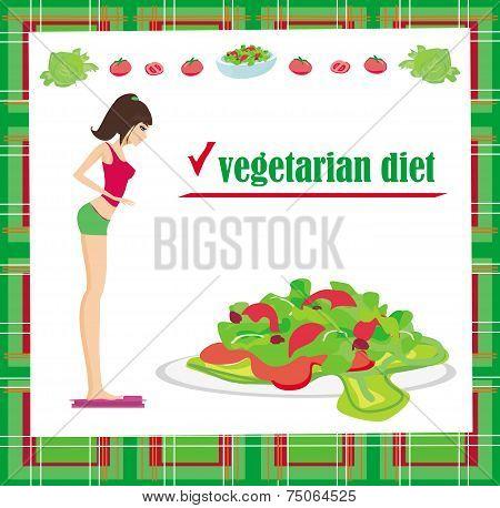 Vegetarian Diet Card