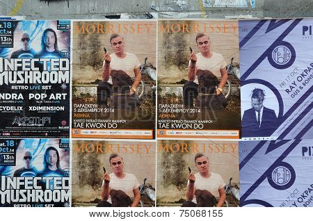 Live Music Concert Posters