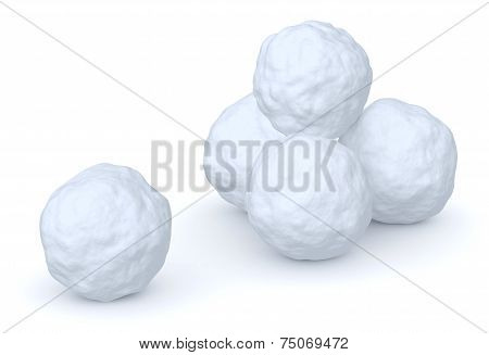 Snowballs Heap And One Snowball