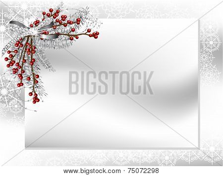 Card With Ribbon