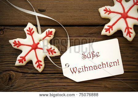 Suesse Weihnachten On A Label