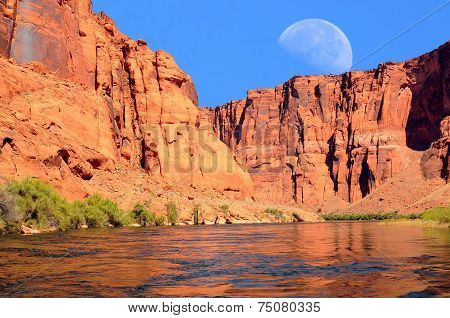 Colorado River Moon