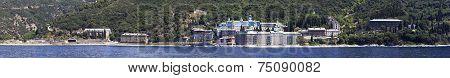 St. Panteleimon Monastery. Holy Mount Athos.