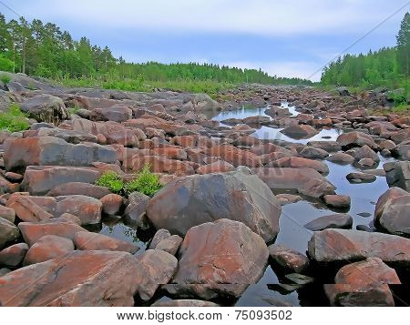 Dry river corridor