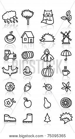 Fall Icons