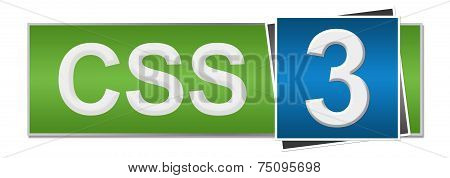 CSS 3 Green Blue