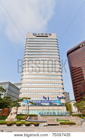 Skyscraper (1988) Of Shinhan Bank Headquarters In Seoul