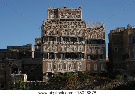House in Sanaa, Yemen
