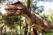 picture of tyrannosaurus  - Tyrannosaurus  - JPG