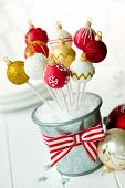 stock photo of cake pop  - Red - JPG