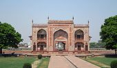 stock photo of india gate  - gate at the Tomb of Itimad - JPG