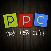 Постер, плакат: Ppc Pay Per Click