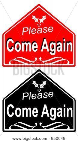 Venha novamente