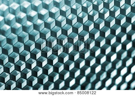 Abstract cubic pattern